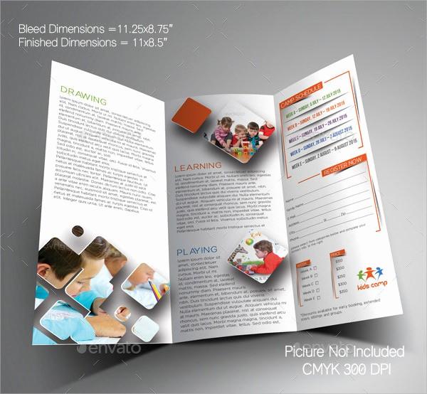 School Brochure Template Free Download Fresh School Brochure 9 Free and Premium Download