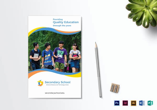 School Brochure Template Free Download Inspirational Education Brochure Template 25 Free Psd Eps Indesign