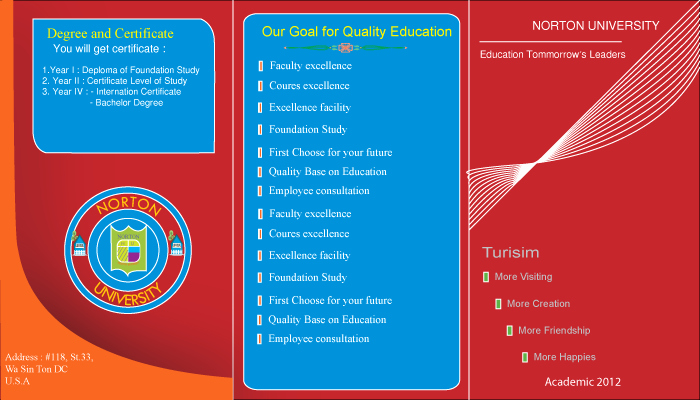 School Brochure Template Free Download Inspirational Free Brochure Templates Illustrator Ai