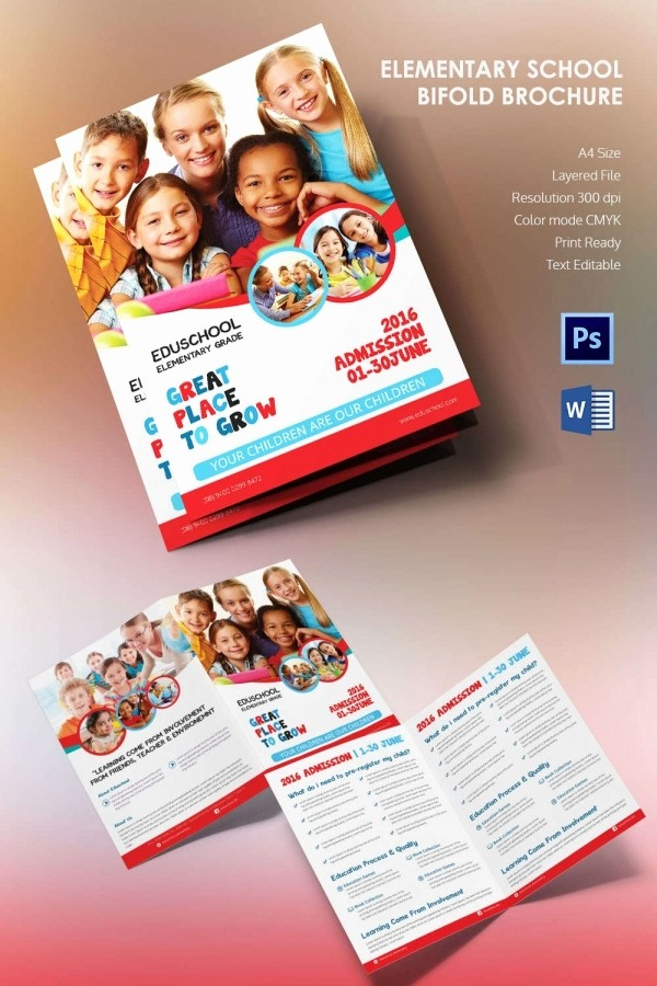 School Brochure Template Free Download Inspirational Microsoft Brochure Template 34 Free Word Pdf Ppt