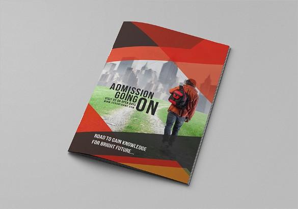 School Brochure Template Free Download Lovely Bi Fold Brochure Templates – 47 Free Psd Ai Vector Eps
