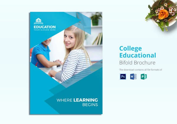School Brochure Template Free Download Lovely Education Brochure Template 25 Free Psd Eps Indesign