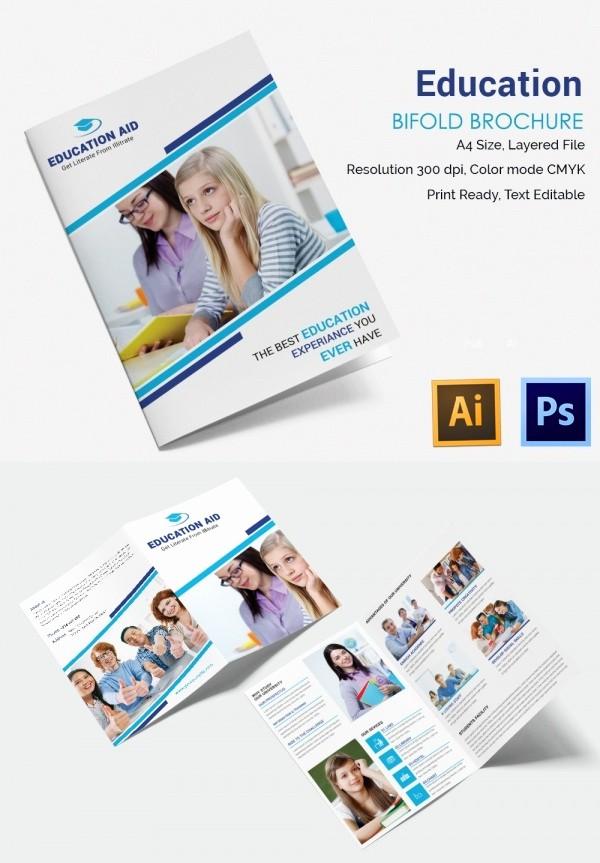 School Brochure Template Free Download Lovely Education Brochure Template 43 Free Psd Eps Indesign
