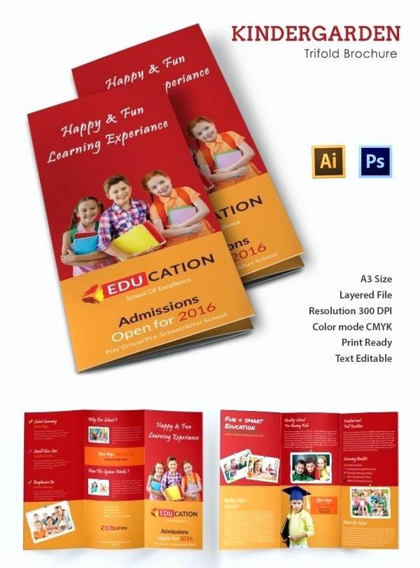 School Brochure Template Free Download Luxury Education Brochure Design Templates Free Download Flyer