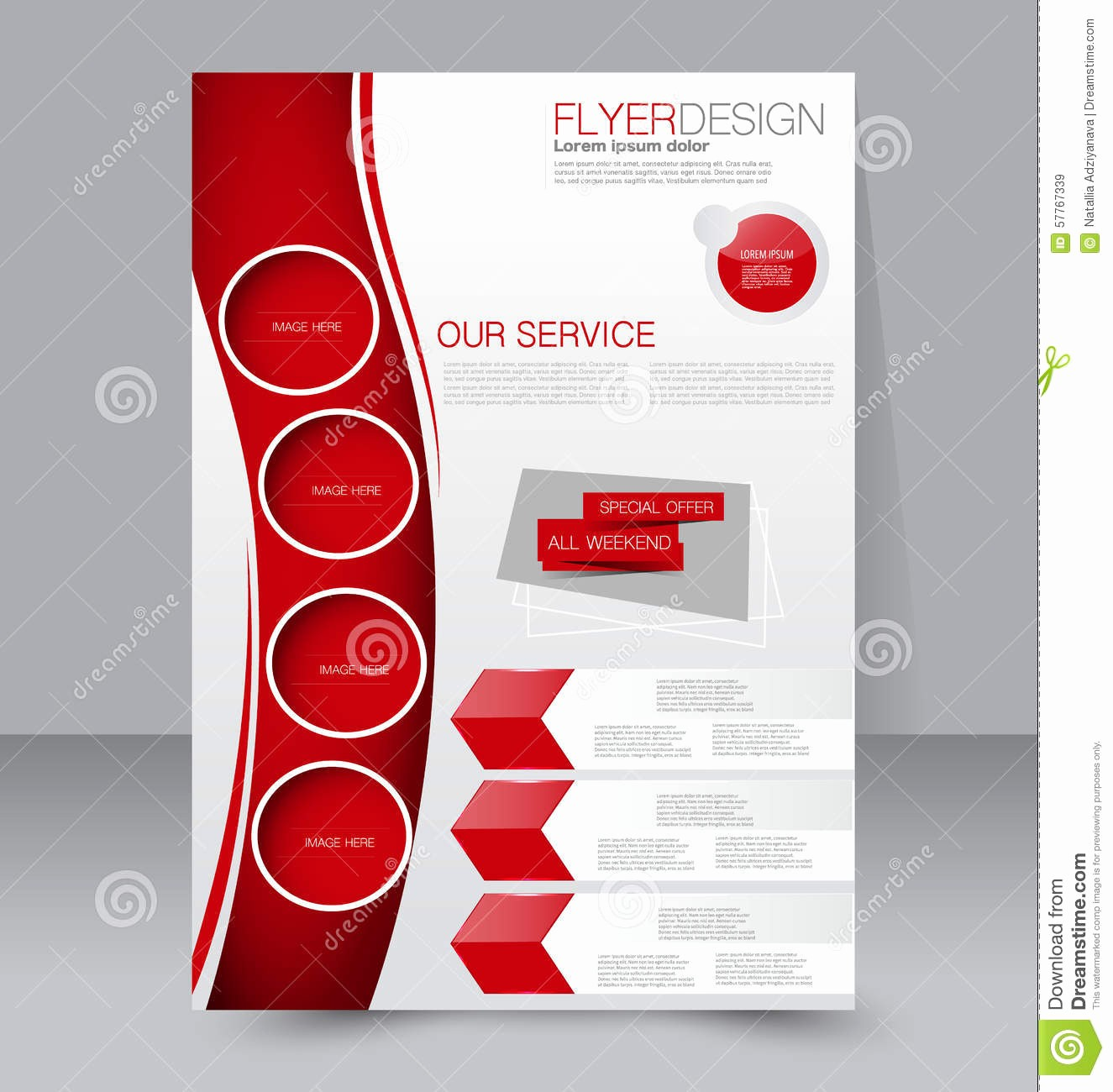 School Brochure Template Free Download Luxury Flyer Template Business Brochure Editable Poster Design