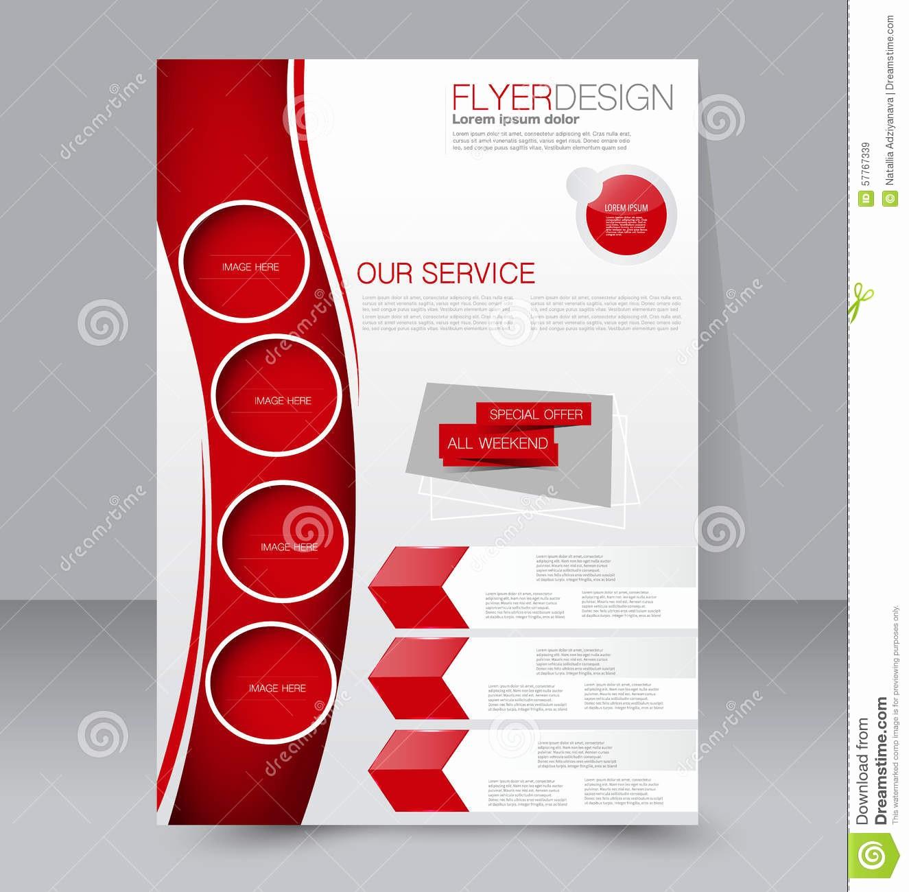 School Brochure Template Free Download Luxury Flyer Template Business Brochure Editable Poster Design