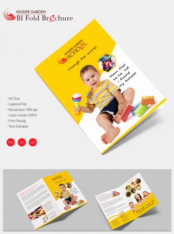School Brochure Template Free Download New 19 School Brochure Psd Templates & Designs