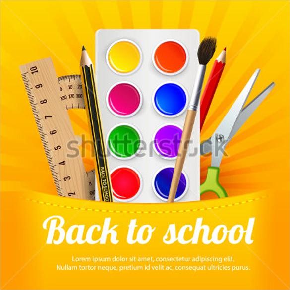 School Brochure Template Free Download New 21 Back to School Flyer Templates