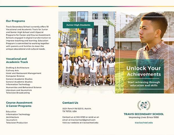 School Brochure Template Free Download Unique Education Brochure Template 25 Free Psd Eps Indesign