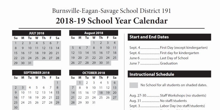 School Calendar 2018 19 Template Beautiful Academic Calendars Set Through 2019 20