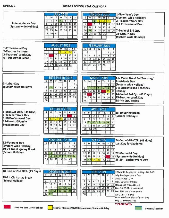 School Calendar 2018 19 Template Best Of Mcpss Approves School Calendar for 2018 19 Fox10 News