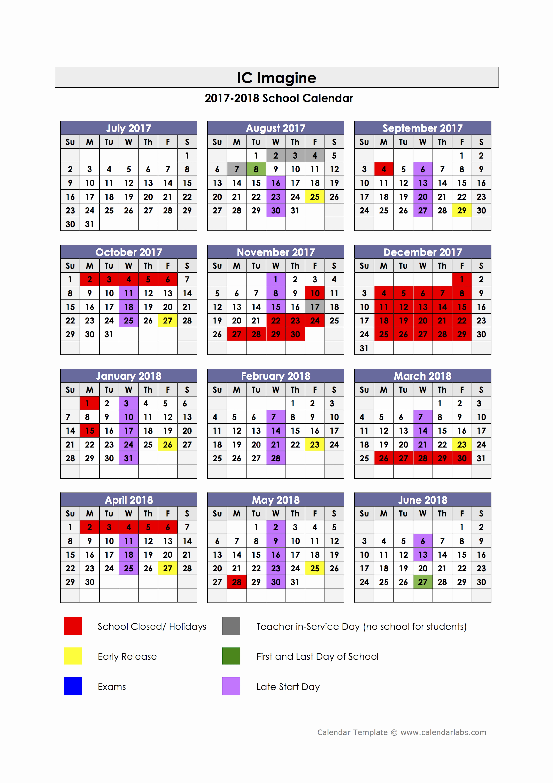 School Calendar 2018 19 Template Unique 14 Lovely 2018 19 Calendar Template Paranoidcitroid