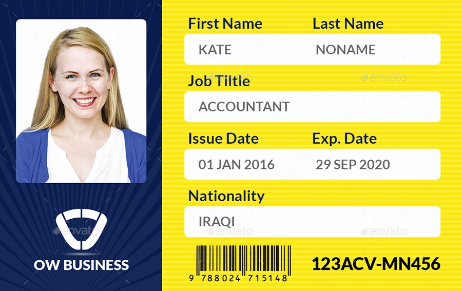 student id card template free business id template custom card template business id card template free card 2