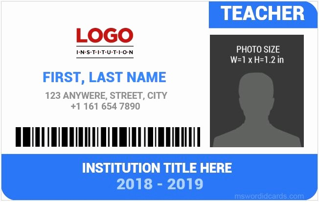 School Id Template Free Download Lovely 95 Service Dog Badge Template Emotional Support Animal