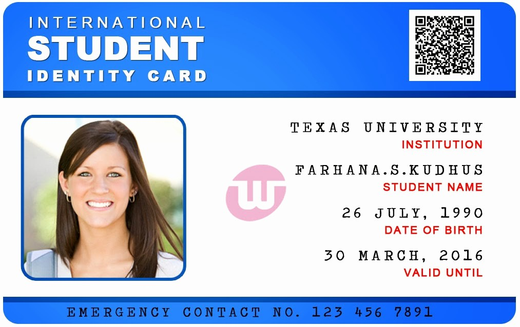 School Id Template Free Download New 10 Psd University Card Business Card Psd Template