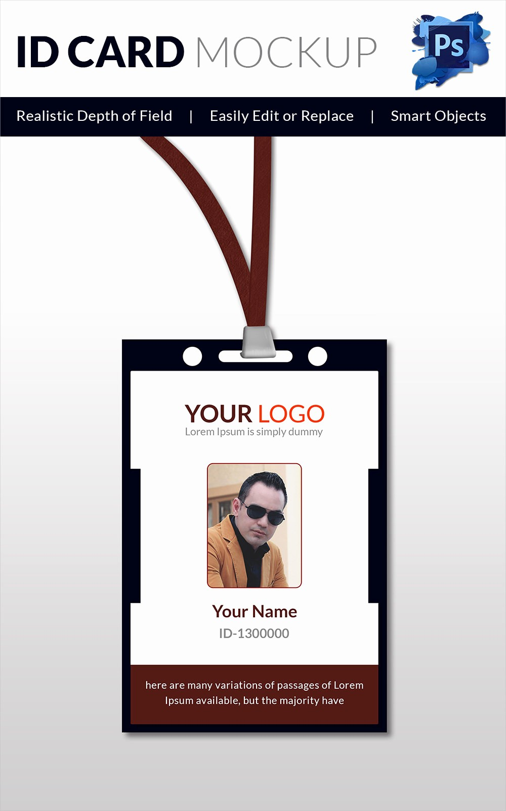 School Id Template Free Download Unique 18 Id Card Templates – Free Psd Documents Download