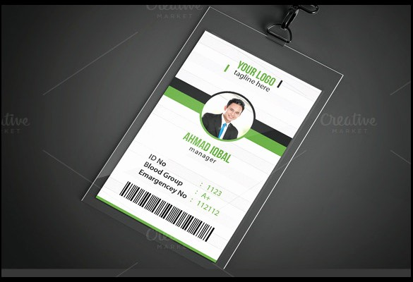 School Id Template Free Download Unique 64 Amazing Id Card Templates to Download