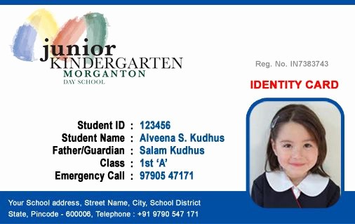 School Id Template Free Download Unique Image Result for Student Id Card Template Free