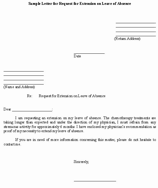 School Leave Of Absence Letter Elegant Authorization Letter Templates Absence From School