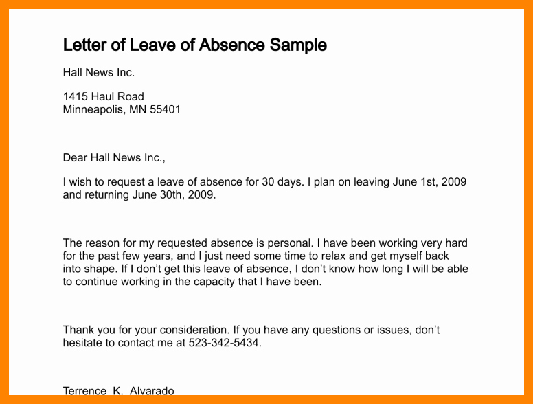 School Note for Being Absent New Apology Letter for Being Absent In School Sample format