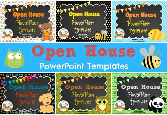 School Open House Flyer Template Unique Open House Powerpoint Template Back to Schoolopen House