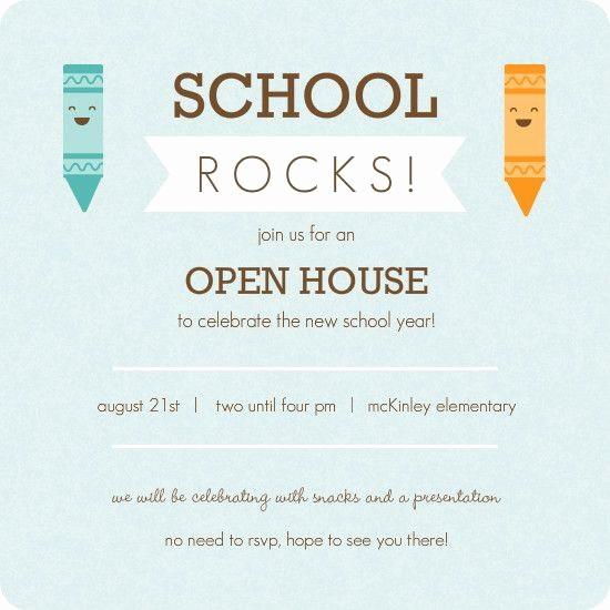 School Open House Invitations Templates Beautiful Kindergarten Roundup