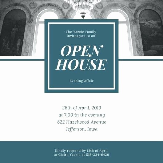 School Open House Invitations Templates Beautiful School Open House Invitation Template Day Wording