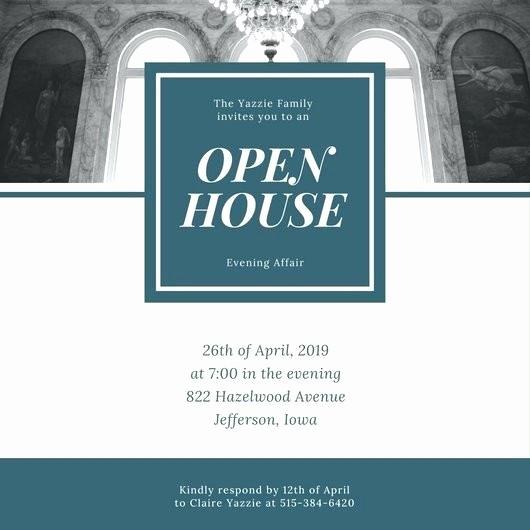 School Open House Invitations Templates Beautiful School Open House Invitation Template Day Wording