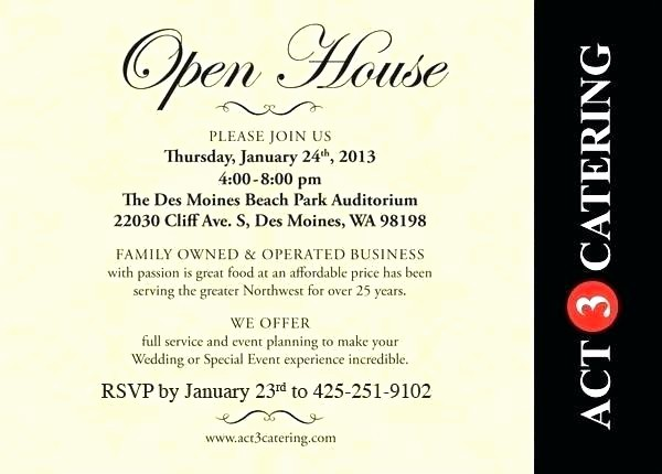 School Open House Invitations Templates Lovely Open House Invitation Templates Open House Invitation