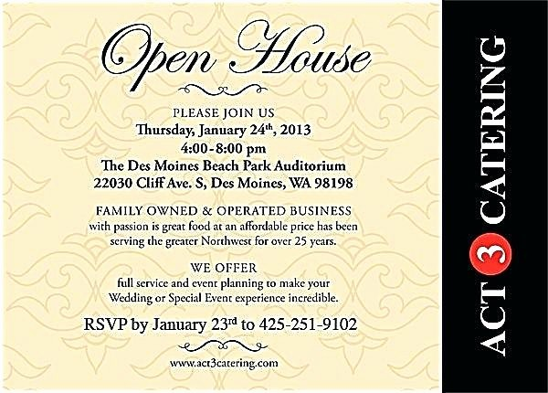 School Open House Invitations Templates Lovely Open House Invitation Wording Open House Invitation