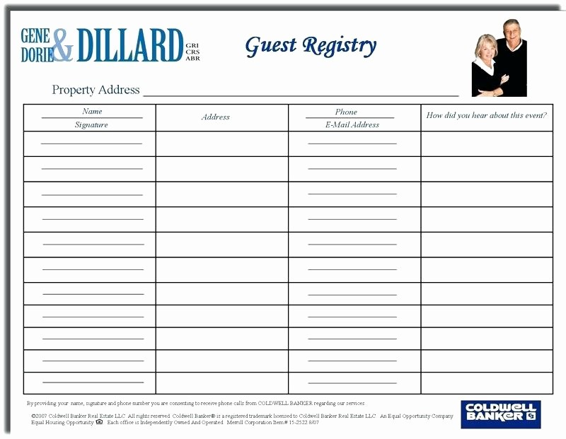 School Sign In Sheet Template Inspirational School Open House Sign In Sheet Open House Sign In Sheet