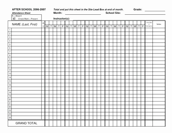 School Sign In Sheet Template Lovely How Make A Sign In Sheet Expert Template Word School Open