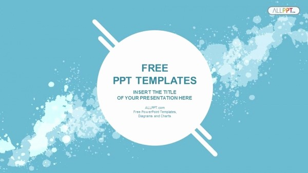 Science Powerpoint Templates Free Download Best Of Abstract Splashes Powerpoint Templates