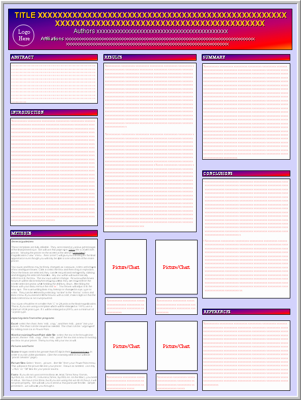 Science Powerpoint Templates Free Download Elegant Posters4research Free Powerpoint Scientific Poster Templates