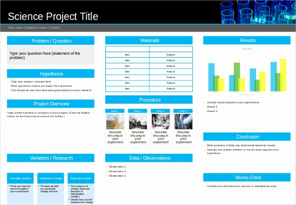 Science Powerpoint Templates Free Download Unique 8 Powerpoint Poster Templates Ppt