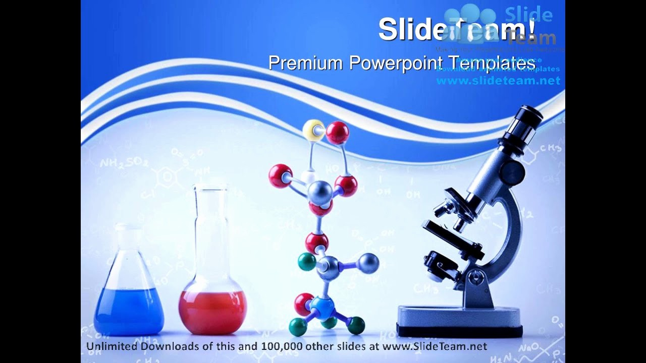 Science Powerpoint Templates Free Download Unique Chemistry Equipment Science Powerpoint Templates themes