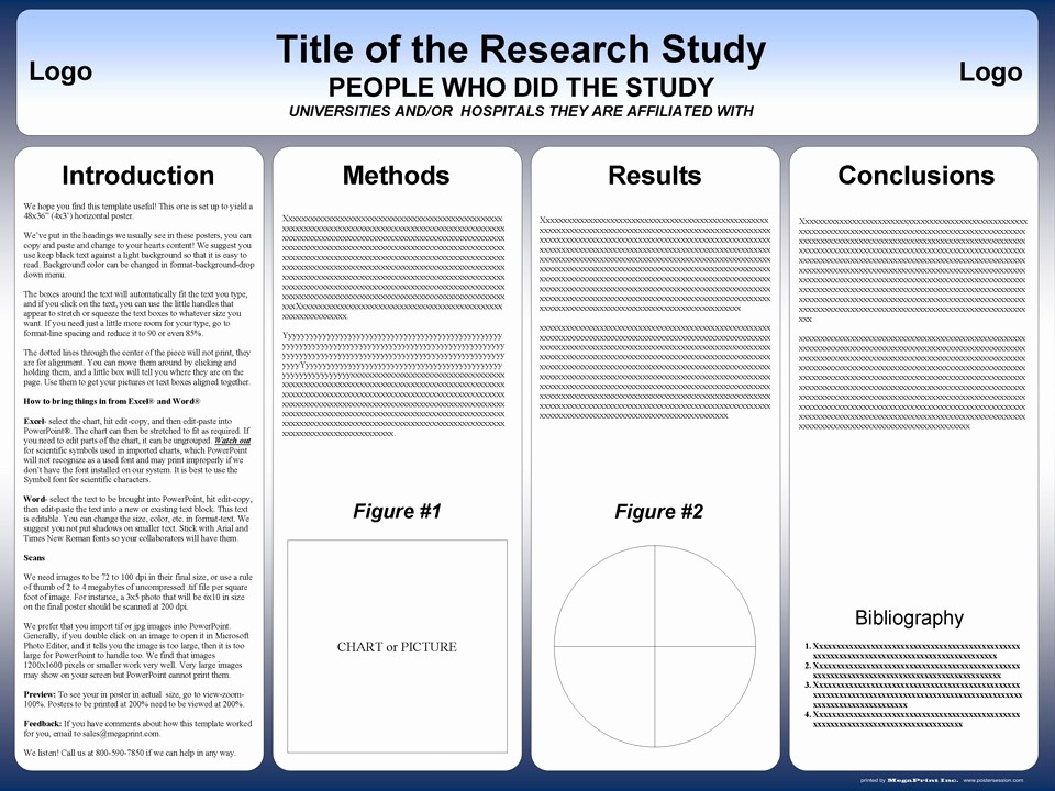 Scientific Poster Template Powerpoint Free Beautiful Free Powerpoint Scientific Research Poster Templates for