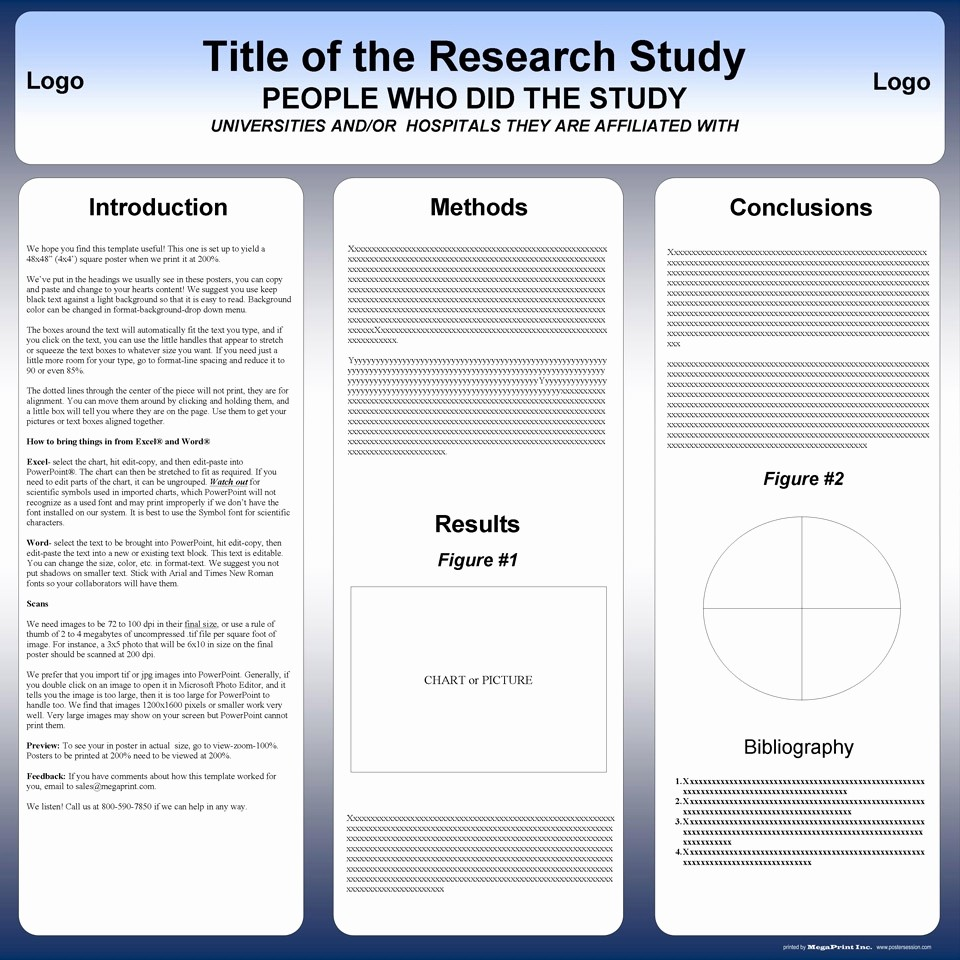 Scientific Poster Template Powerpoint Free Elegant Free Poster Templates