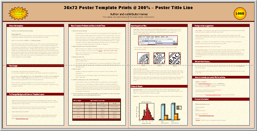 Scientific Poster Template Powerpoint Free Fresh Posters4research Free Powerpoint Scientific Poster Templates