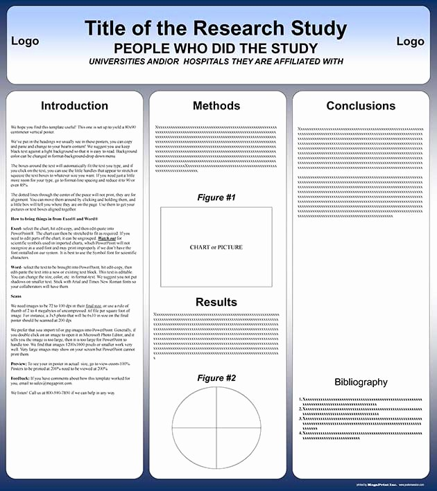 Scientific Poster Template Powerpoint Free Inspirational Free Powerpoint Scientific Research Poster Templates for