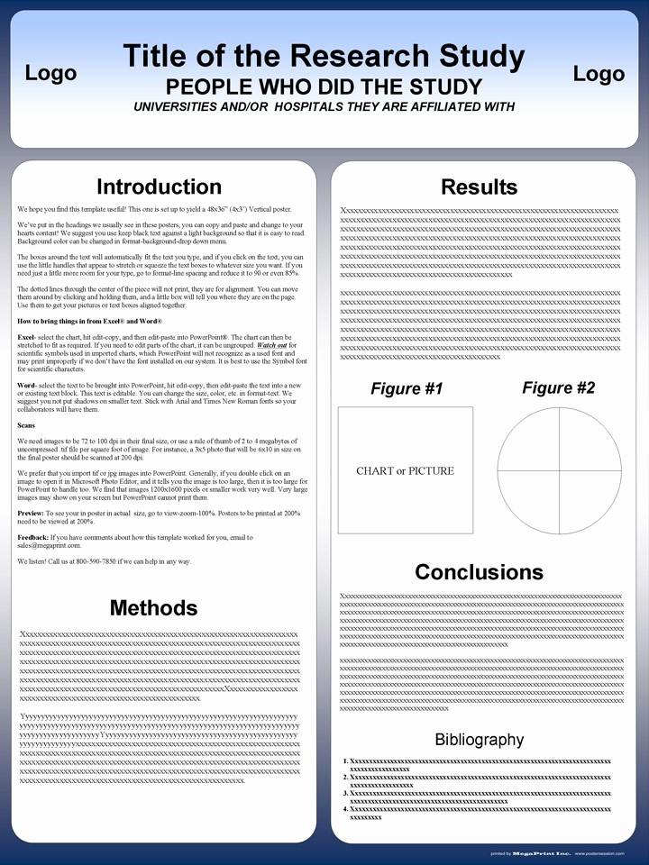 Scientific Poster Template Powerpoint Free Luxury Free Powerpoint Scientific Research Poster Templates for