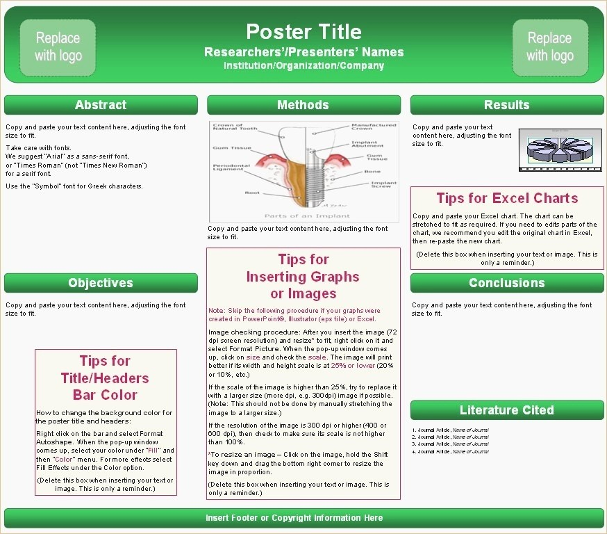 Scientific Poster Template Powerpoint Free Unique Academic Poster Template Powerpoint Powerpoint Templates