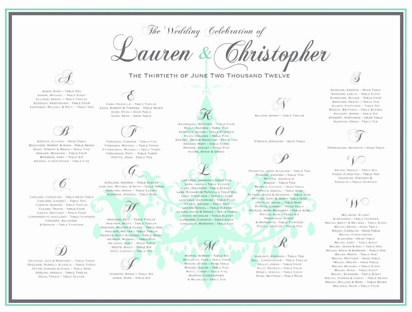 Seating Chart Wedding Template Free Best Of 7 Seating Chart Template for Wedding Reception Yyrto
