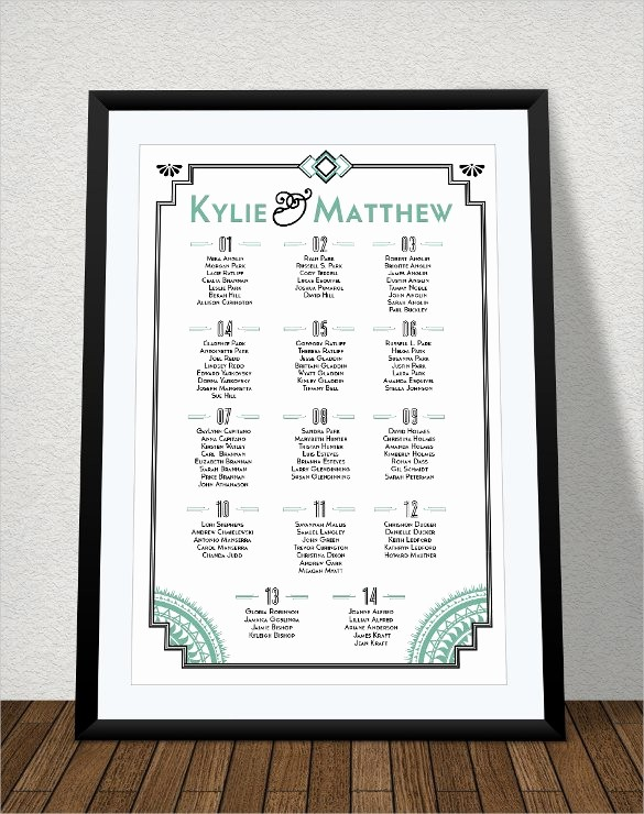 Seating Chart Wedding Template Free Luxury 34 Wedding Seating Chart Templates Pdf Doc