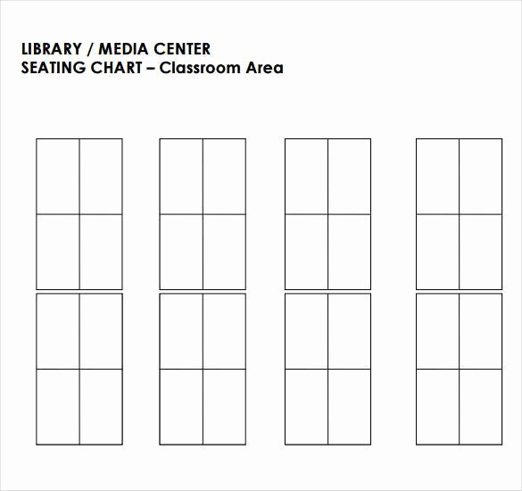 Seating Charts Templates for Classrooms Fresh Classroom Seating Chart Template 22 Examples In Pdf
