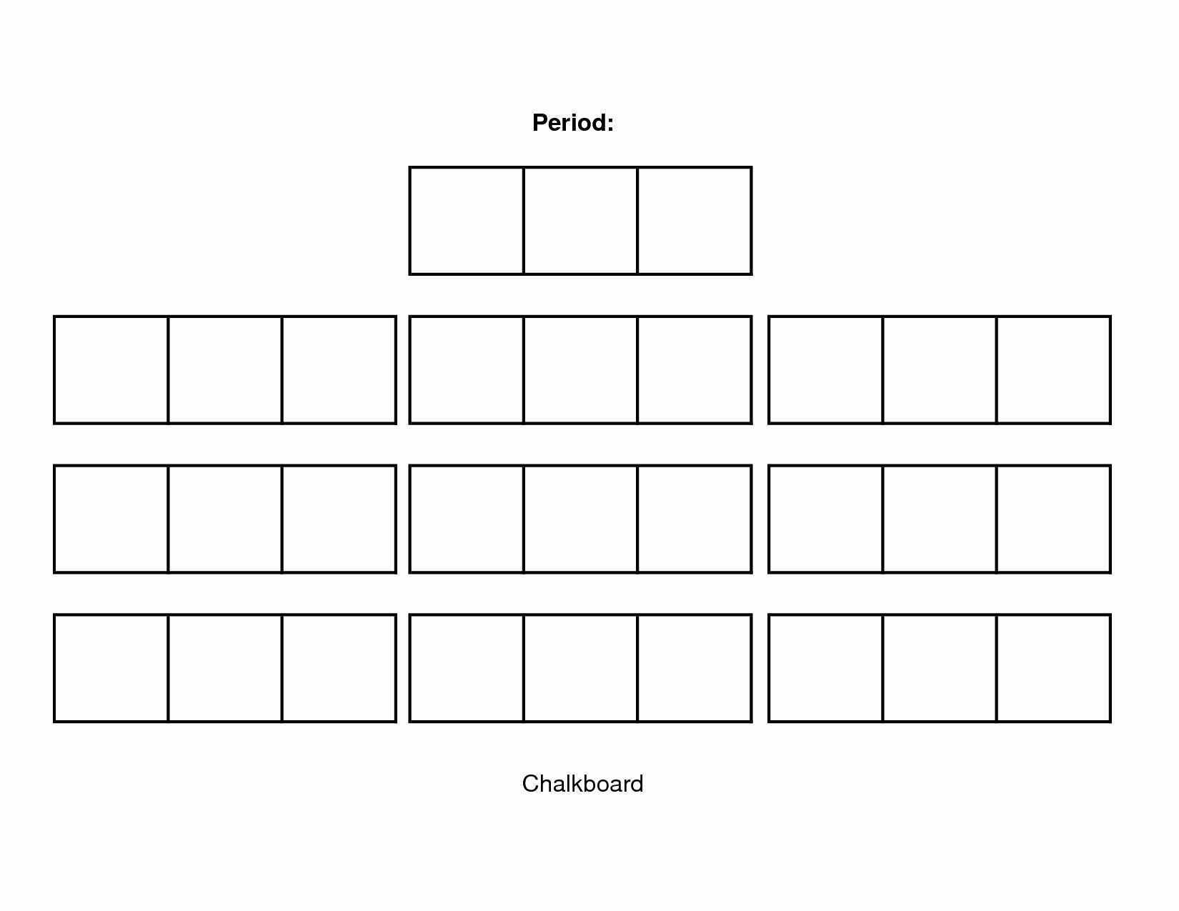 Seating Charts Templates for Classrooms Inspirational Classroom Seating Chart Template