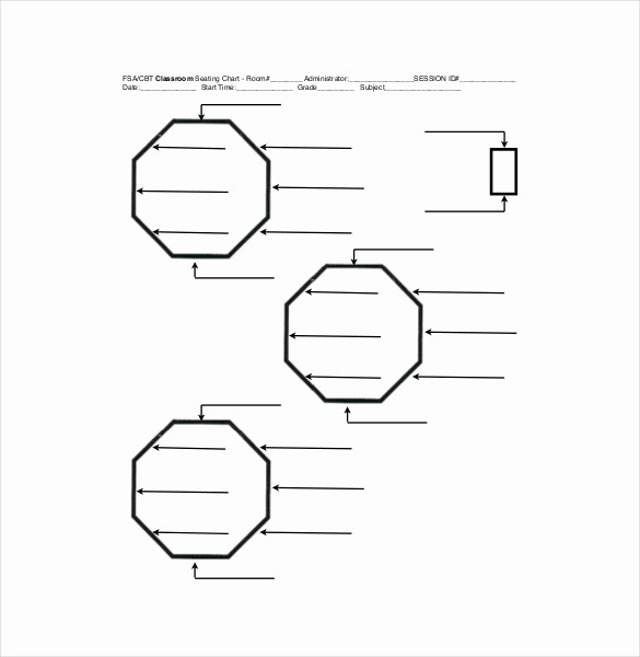 Seating Charts Templates for Classrooms Luxury Classroom Seating Chart Template 10 Examples In Pdf