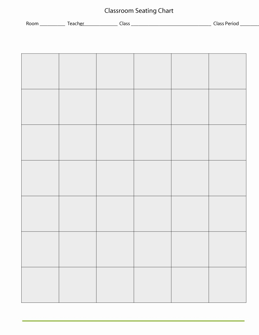 Seating Charts Templates for Classrooms New 40 Great Seating Chart Templates Wedding Classroom More
