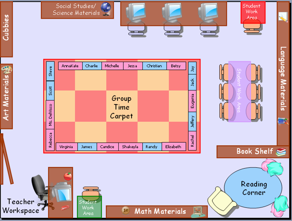 Seating Charts Templates for Classrooms New Classroom Seating Chart Template