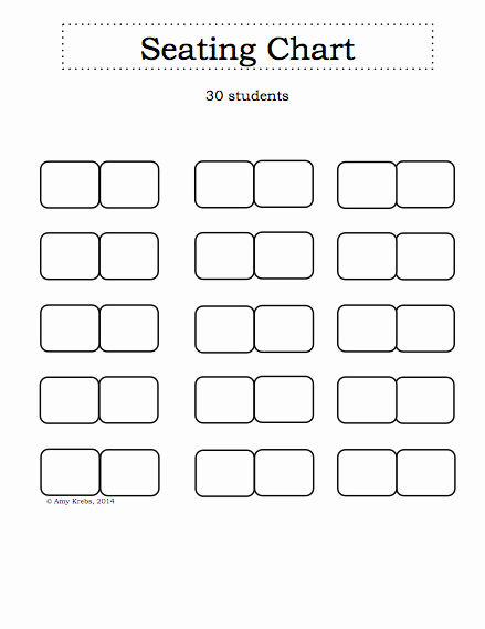 Seating Charts Templates for Classrooms New Inspiration for Education Getting organized with A